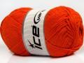 Přírodní bavlna - oranžová 4