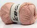 Přírodní bavlna - pudrově růžová
