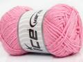 Přírodní bavlna - růžová