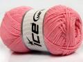 Přírodní bavlna - růžová 2