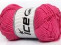 Přírodní bavlna - sladce růžová