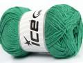 Přírodní bavlna - zelená 1