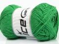 Přírodní bavlna - zelená
