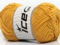 Přírodní bavlna - zlatá 1