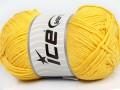 Přírodní bavlna - žlutá