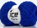 Puffy merino - ostře modrá