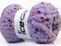 Puffy pompom - fialová