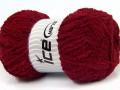 Puffy - tmavě červená