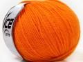 Pure - čistá alpaka - světle oranžová
