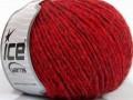 Quipa Alpaka - červená melánž 1