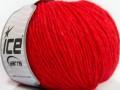Quipa Alpaka - rajčatovo červená