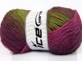 Rainbow - fuchsiovozelená
