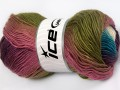Rainbow - purpurovotyrkysovozelenoorchideová