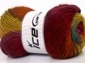 Rainbow - purpurovovínovoměděnozelenozlatotyrkysová