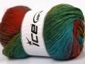 Rainbow - zelenotyrkysovoměděnozlatohnědá
