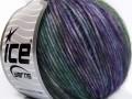 Rock N´Roll - purpurovozelené odstíny