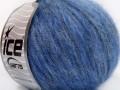 Rock star metallic - jeansově modrá
