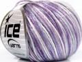 Rockabilly color - fialovobílá