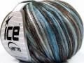 Rockabilly color - hnědočernomodrá