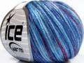 Rockabilly color - modrofialovovínová