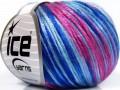 Rockabilly color - modrorůžová