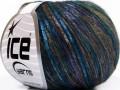 Rockabilly color - tyrkysovokhakipurpurová