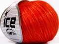 Rockabilly - tmavě oranžová