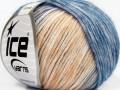 Roma - modrosvětle lososová