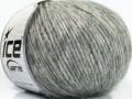 Royal dětská alpaka light - šedá melánž