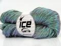 Ručně barvená bavlna plus - šedá 1