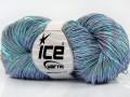 Ručně barvená bavlna plus - světle fialová