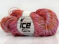 Ručně barvená bavlna plus - světle měděná