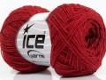 Sally bavlna - červená