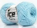 Sally bavlna - dětská modrá