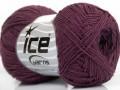 Sally bavlna - purpurová
