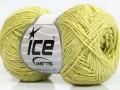 Sally bavlna - světle zelená