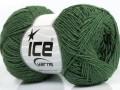 Sally bavlna - tmavě zelená
