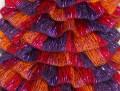 Samba - červenooranžovopurpurová