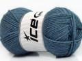 Silk merino DK - jeansově modrá