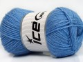 Silk merino DK - modrá