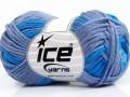 Sky bavlna - modrofialová
