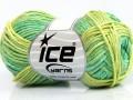 Sky bavlna - zelené odstíny