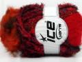 Smoothy Hat - červenooranžové odstíny