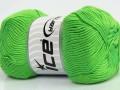 Soft baby - ostře zelená