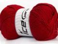Soft baby - tmavě červená