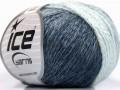 Soft chain vlna - námořnickásvětle modrá