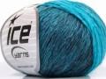 Soft chain vlna - tyrkysové odstíny