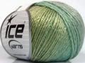 Soft chain vlna - zelenošedá