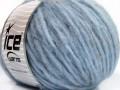 Softair tvíd - světle modrá