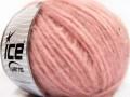 Softair tvíd - světle růžová